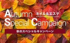 秋のスペシャルキャンペーン